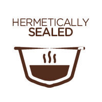 Hermetically sealed